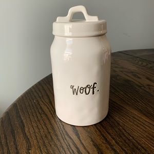 Rae Dunn woof canister